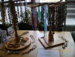 Aulanäyttely, Alla Bytchkovan valmistamia koruja  Украшения от Аллы Бычковой