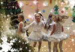 Новогодняя ночь полна волшебства! / Lumihiutalet tuovat joulutaikaa