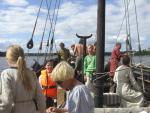 Viikinkiveneellä Eskilstunaan